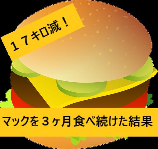 ハンバーガーダイエット